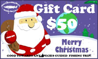 Fishing Gift Card